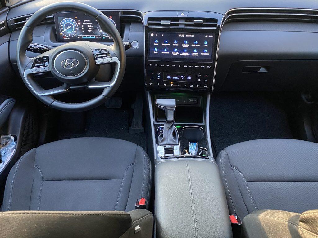 nuova Hyundai Tucson dettaglio interni