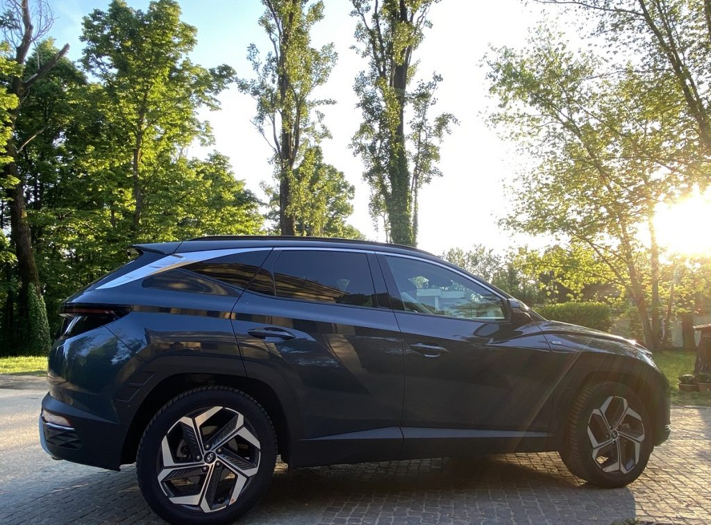 nuova Hyundai Tucson silhouette