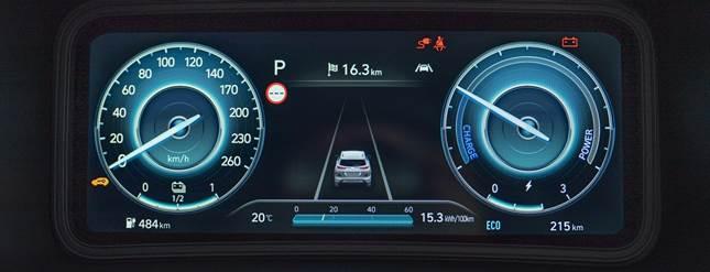 quadro strumenti digitale Hyundai Kona