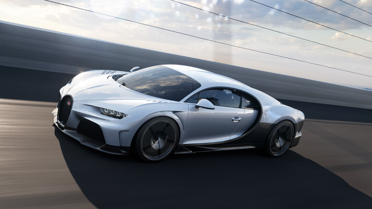 Bugatti Chiron Super Sport in pista
