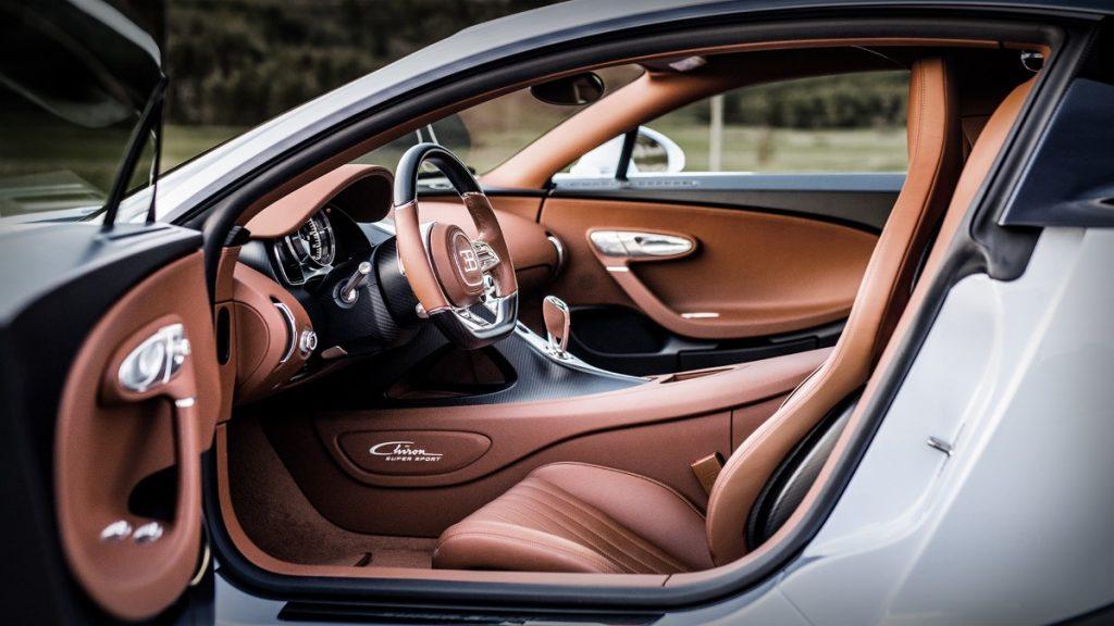 Bugatti Chiron Super Sport interni