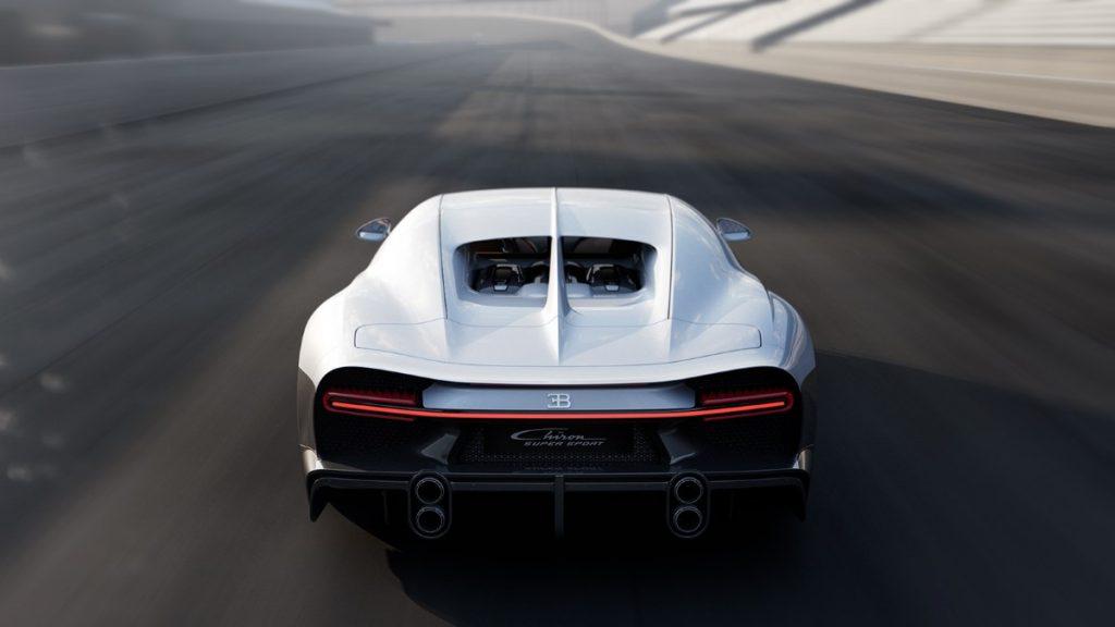 Bugatti Chiron Super Sport posteriore