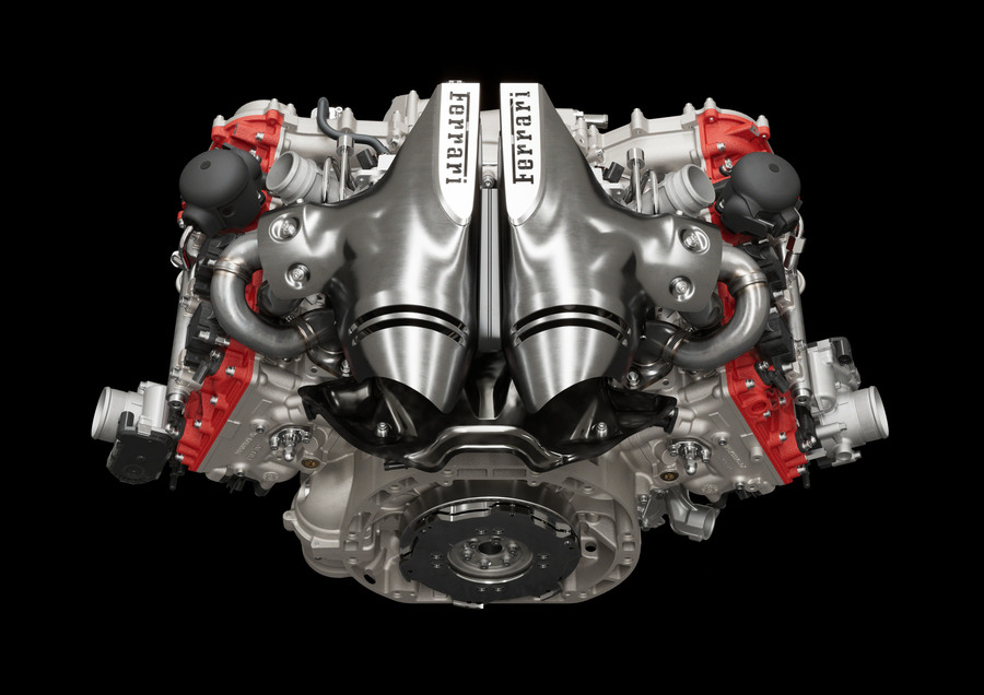 Ferrari 296 GTB motore