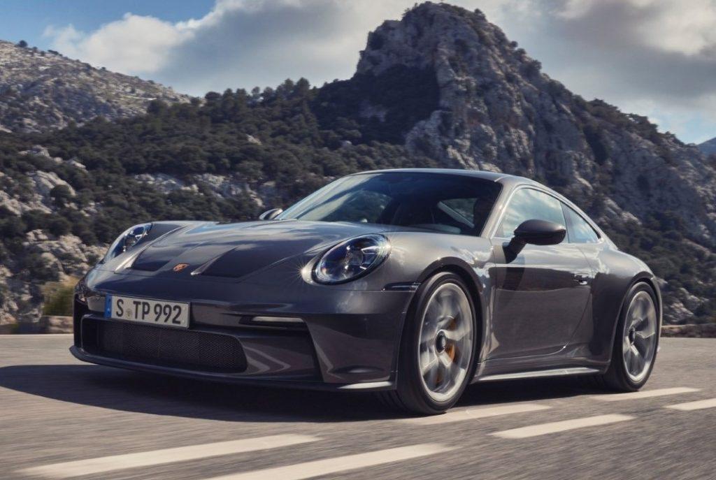 Nuova Porsche 911 GT3 Touring frontale