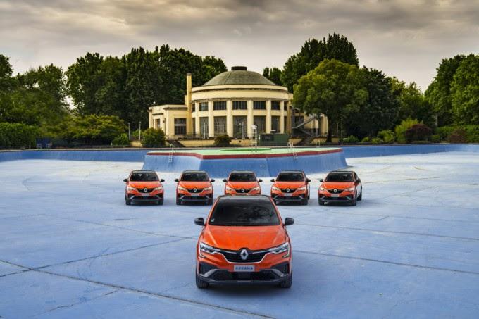 Renault Arkana E-TECH Lido di Milano