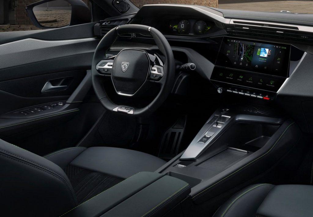 nuovo icockpit Peugeot 308
