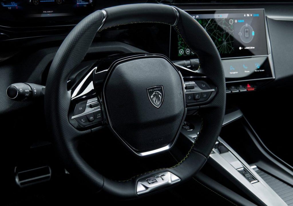 nuovo volante Peugeot 308