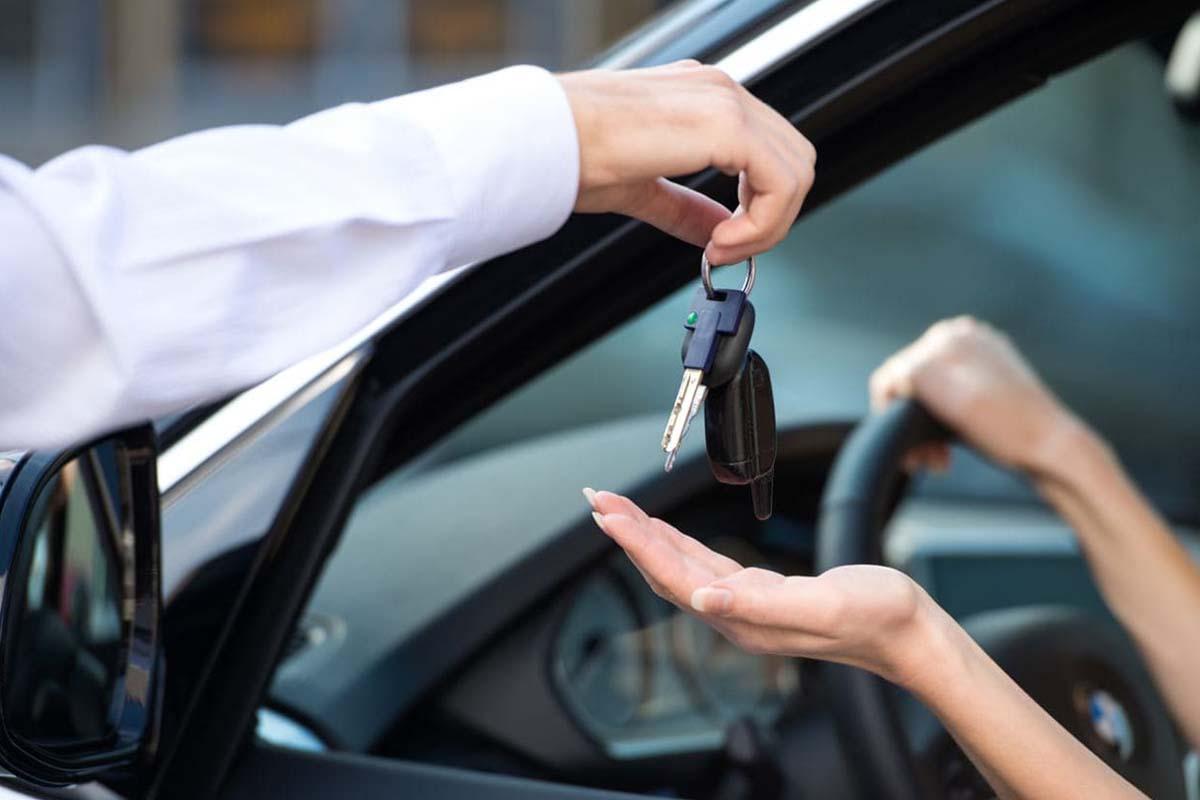 noleggio chiavi auto