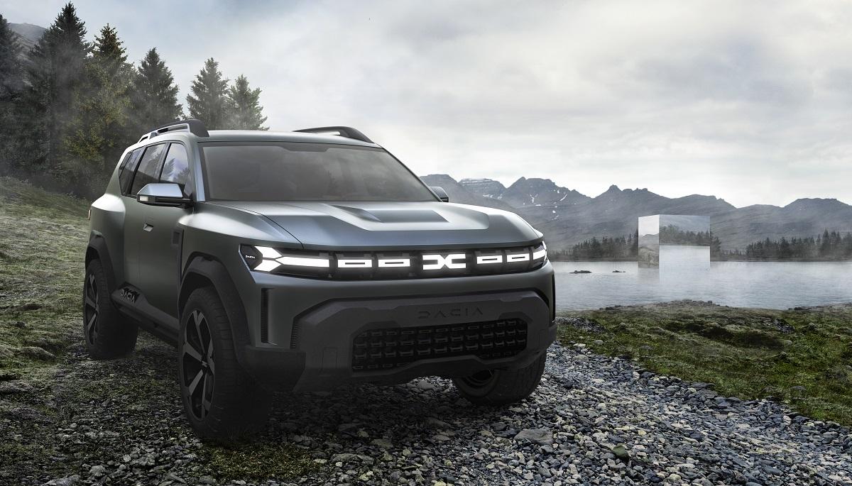 Dacia Bigster il concept con nuovo logo