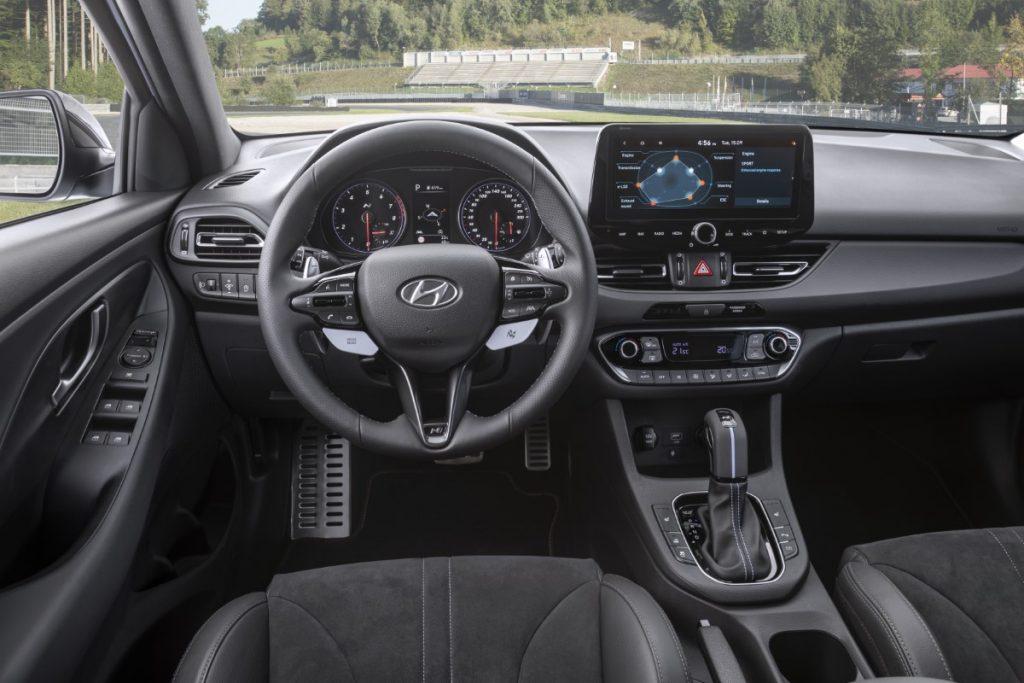 Hyundai i30 N infotainment