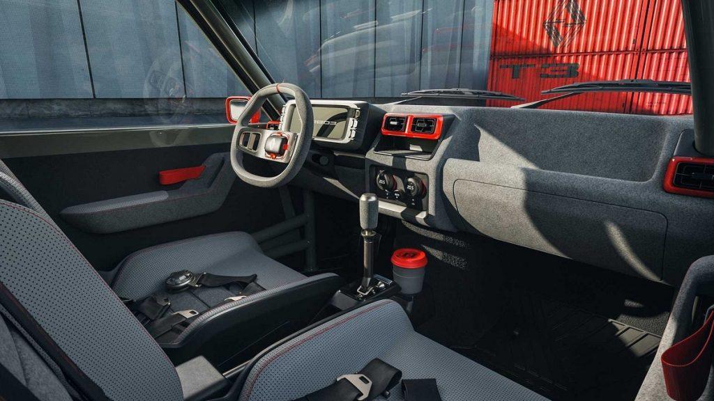 Renault 5 Turbo 3 interni