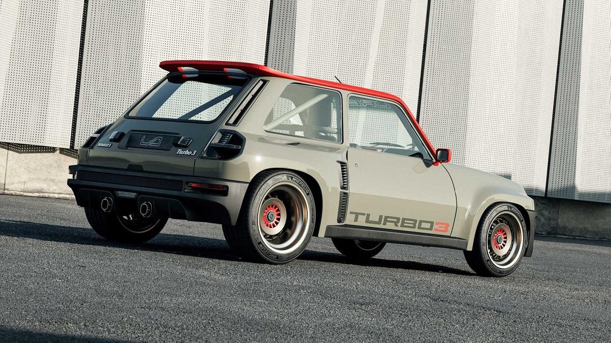 Renault 5 Turbo 3 profilo