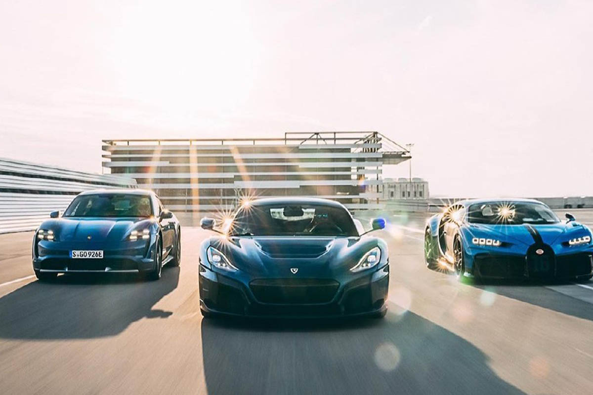 Porsche Rimac Bugatti