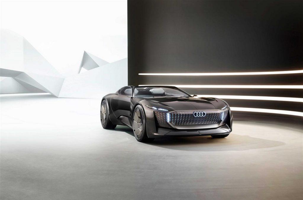 Audi skysphere concept dettaglio anteriore
