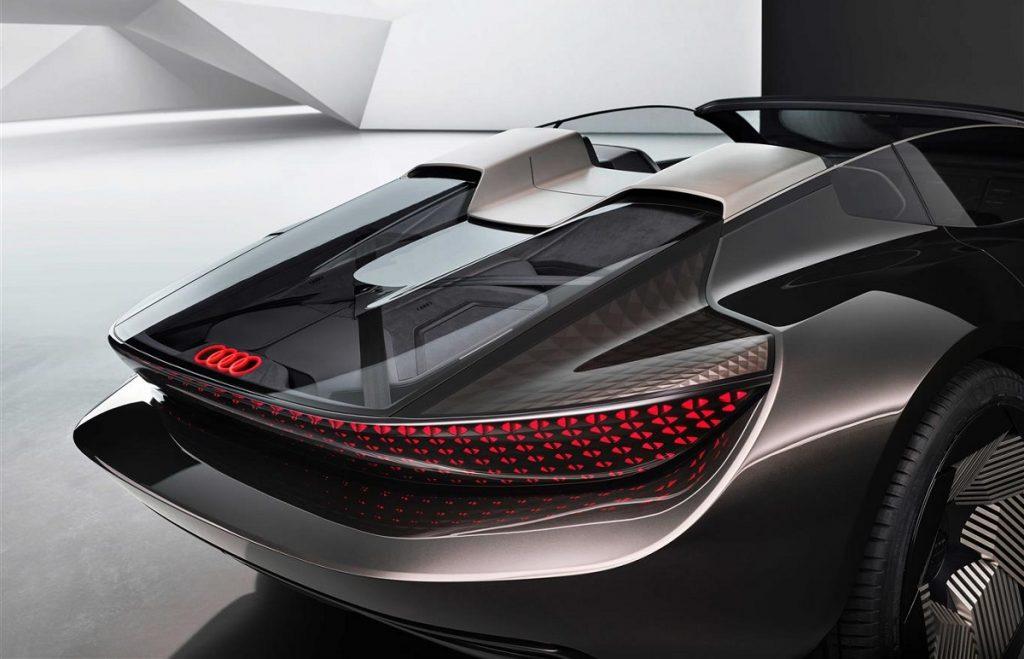 Audi skysphere concept dettaglio posteriore