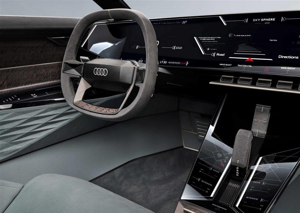 Audi skysphere concept interni