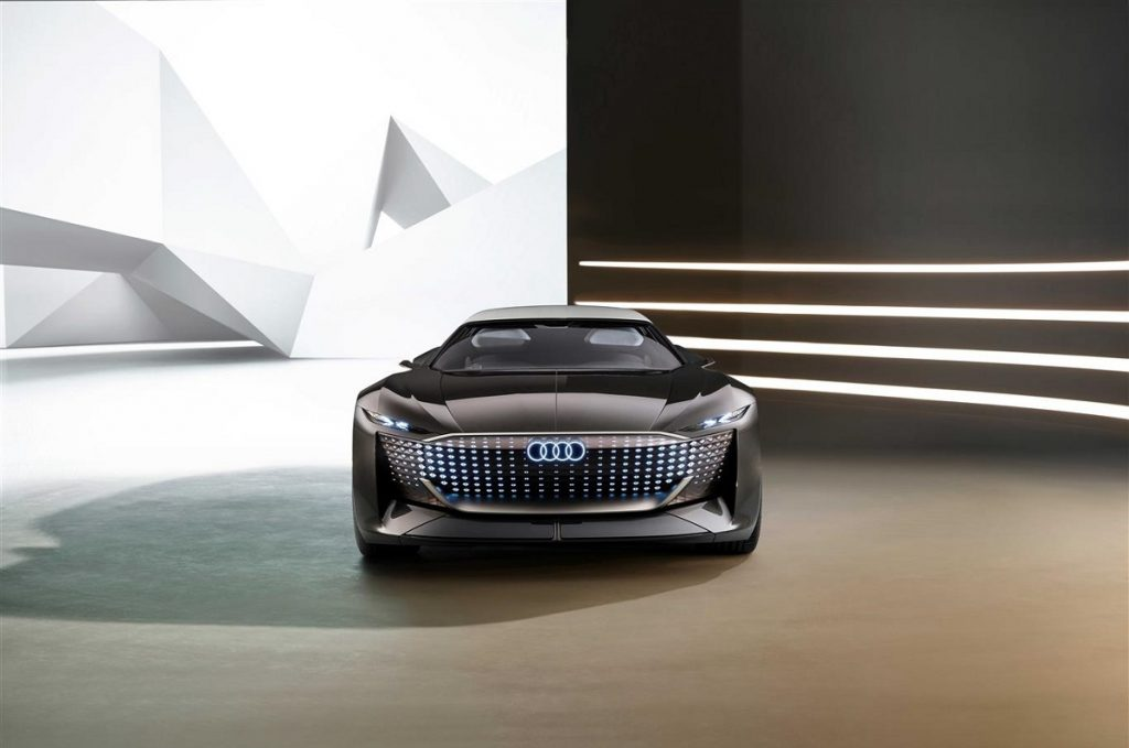 Audi skysphere concept motore