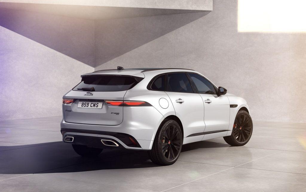 Jaguar F-Pace R-Dynamic Black gamma motori