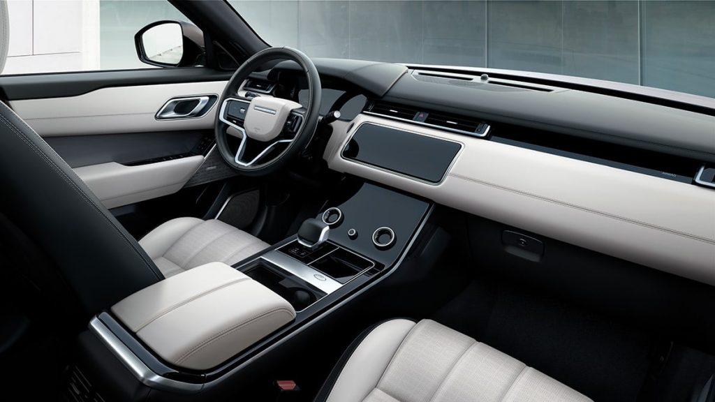 Range Rover Velar Auric Edition infotainment
