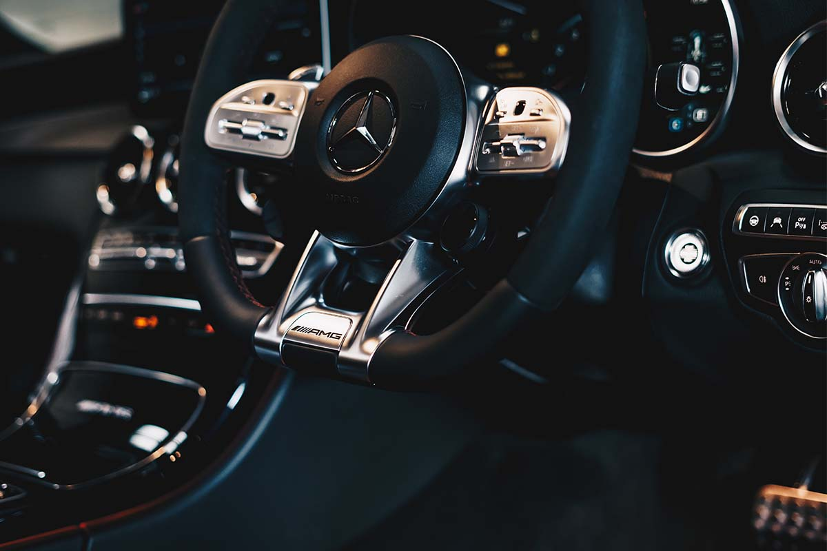 Interno auto Mercedes