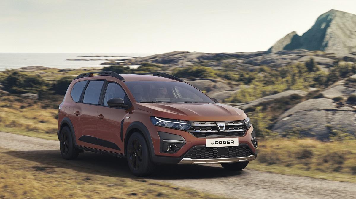 Dacia Jogger extreme profilo anteriore