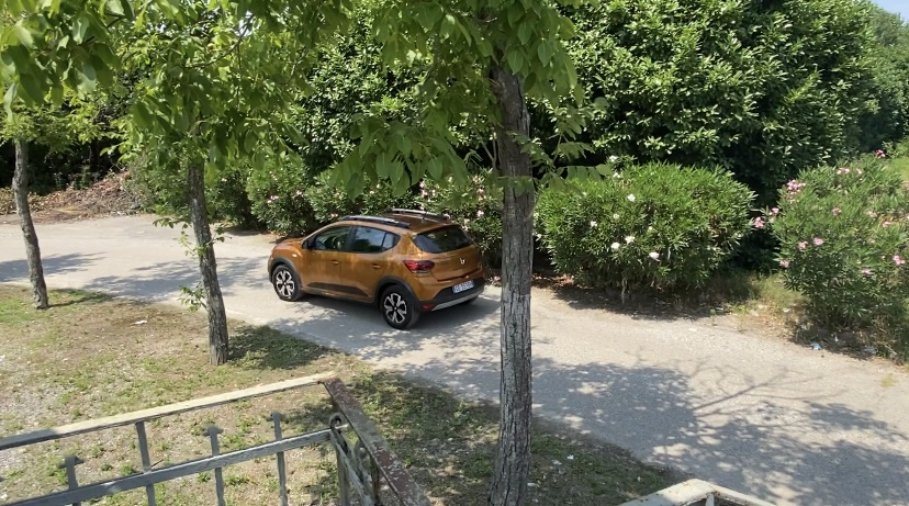 Dacia Sandero Stepway GPL prova su strada