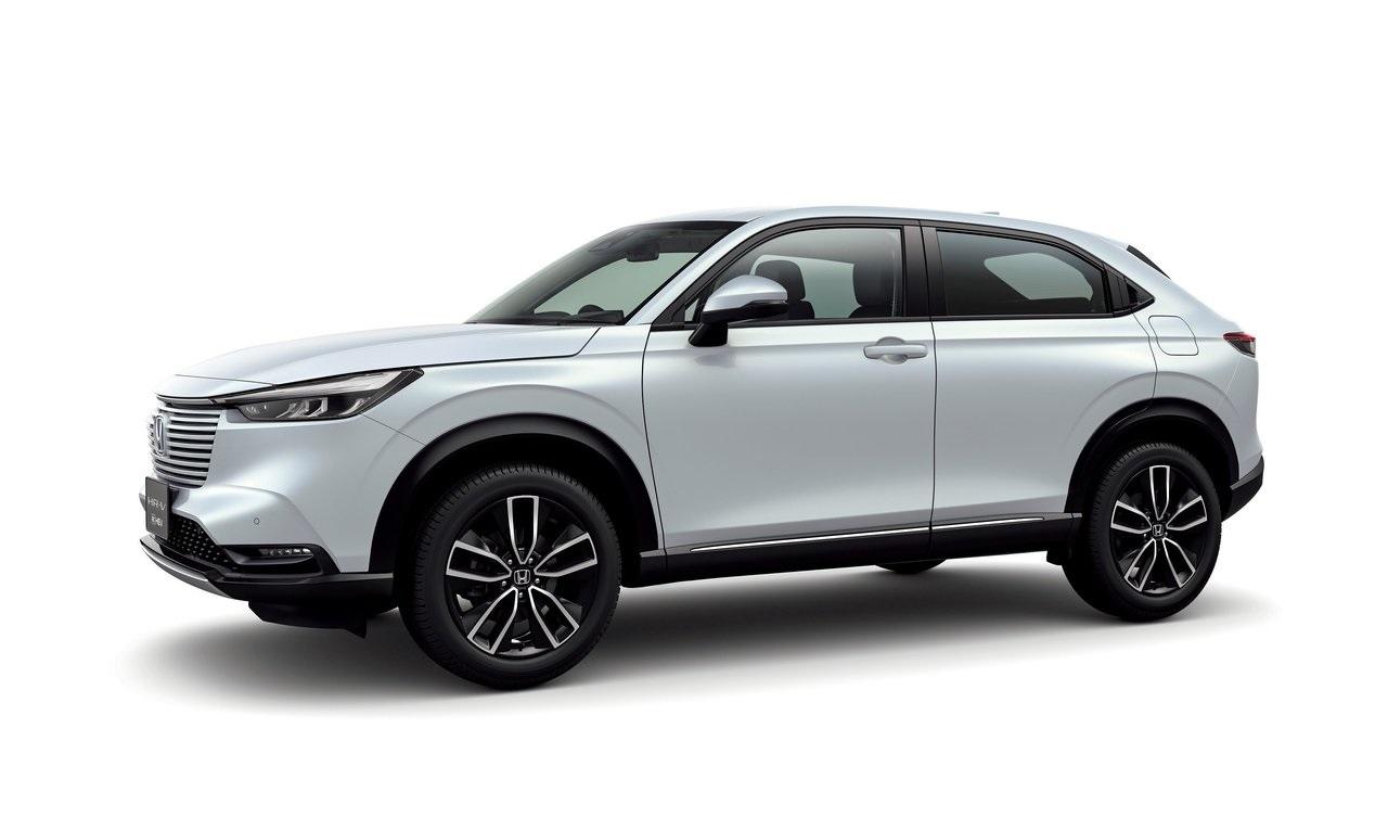 nuova Honda HR-V foto profilo