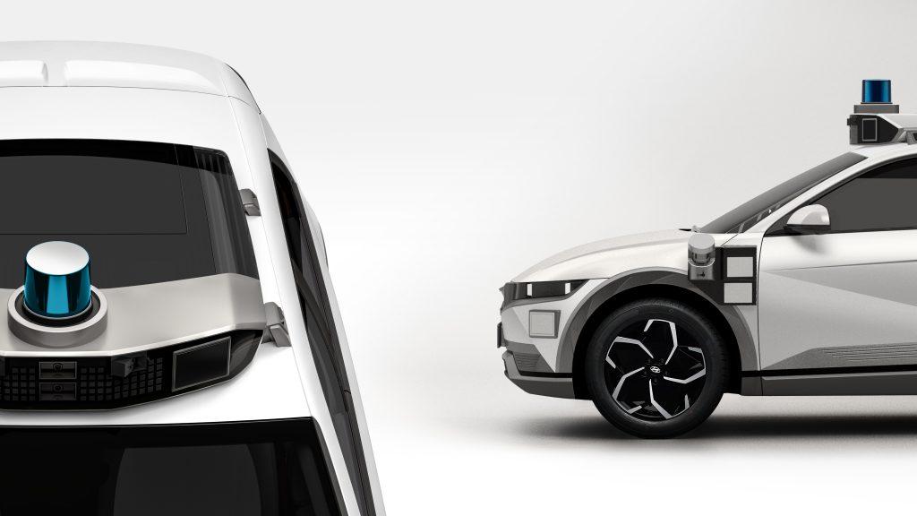 Hyundai IONIQ 5 robotaxi sensori
