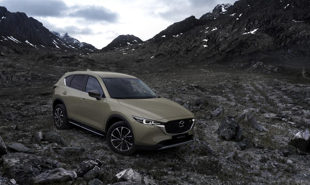 Mazda CX-5 2022 novità estetiche