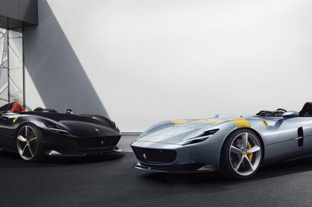 Ferrari Monza SP1 e SP2: ispirate al design del passato ma high-tech
