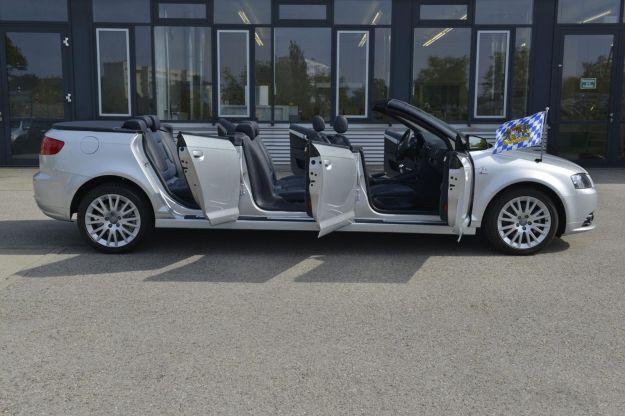 Audi A3 Cabrio con 6 porte: unica auto al mondo! [FOTO]