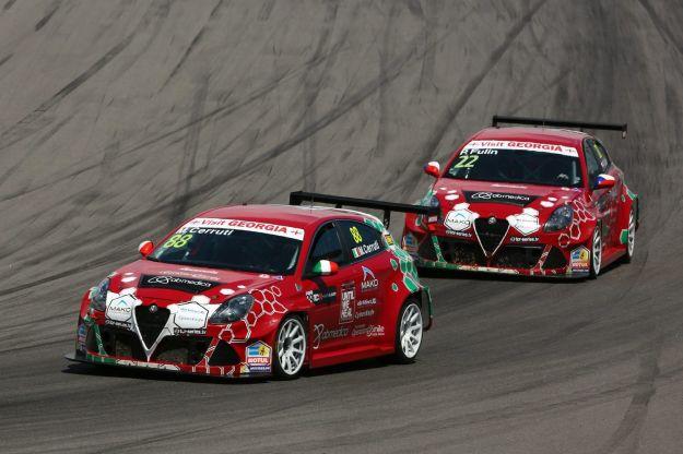 Alfa Romeo Giulietta TCR: la preparazione per il campionato è firmata Romeo Ferraris [FOTO]