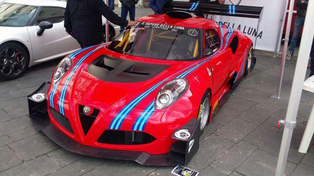 Alfa Romeo 4C: arriva la versione da corsa per il Civm