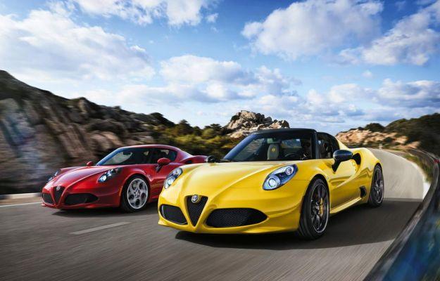 Alfa Romeo 4C Spider: prezzo, scheda tecnica e prestazioni [FOTO]
