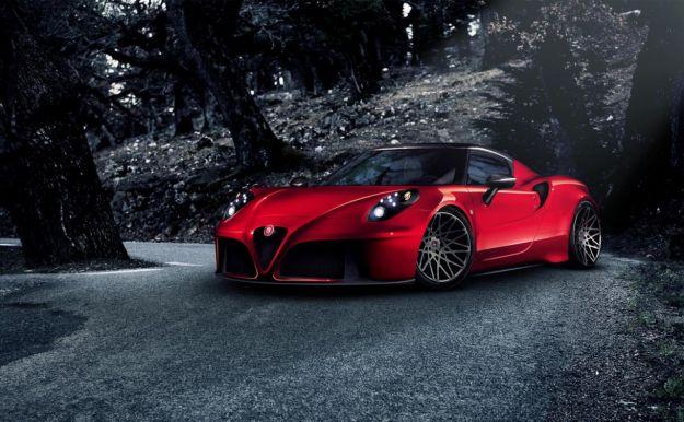Alfa Romeo 4C tuning: motore da 415 cavalli e nuova aerodinamica [FOTO]