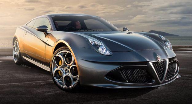 Alfa Romeo GTV 2015 render