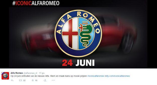 Alfa Romeo Giulia teaser