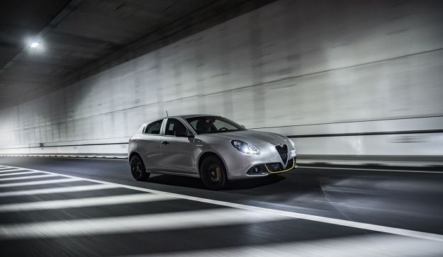 Alfa Romeo Giulietta 2019 in movimento