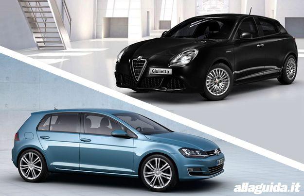 Alfa Romeo Giulietta vs Volkswagen Golf 7
