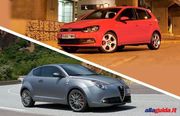 Alfa Romeo Mito Quadrifoglio Verde 2014 vs Volkswagen Polo GTI: confronto [FOTO]