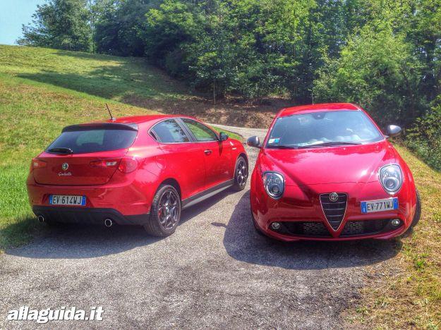 Alfa Romeo Mito e Giulietta Quadrifoglio Verde MY 2014