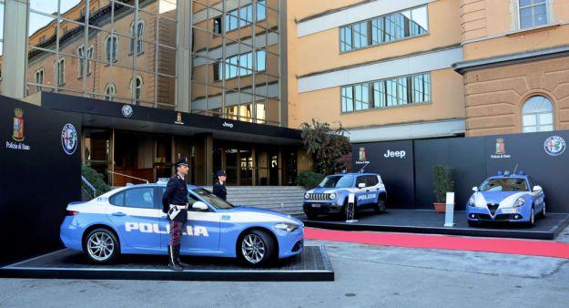 Auto della Polizia stradale: è arrivata l'Alfa Romeo Giulia Veloce [FOTO]