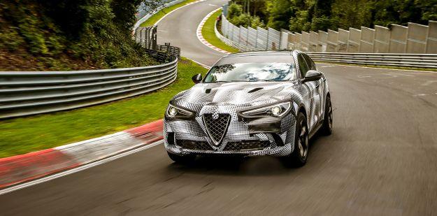 Alfa Romeo Stelvio Quadrifoglio al Nurburgring