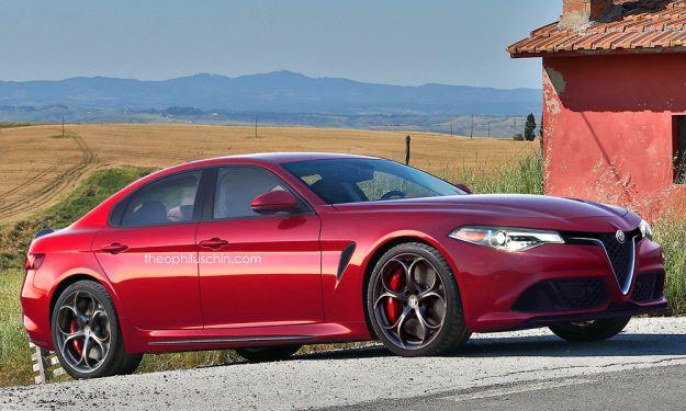 Alfa Romeo berlina segmento E