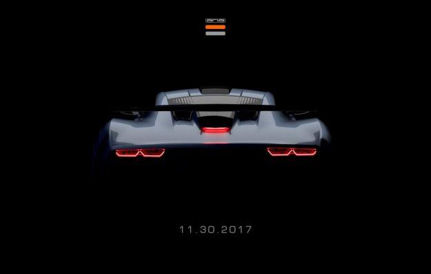 Aria FXE Concept al Salone di Los Angeles 2017: indizi di supercar