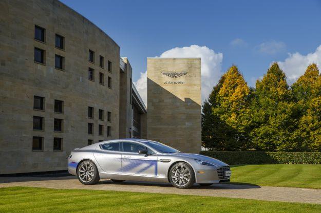 Aston Martin RapidE concept: la più potente di tutte è elettrica [FOTO]