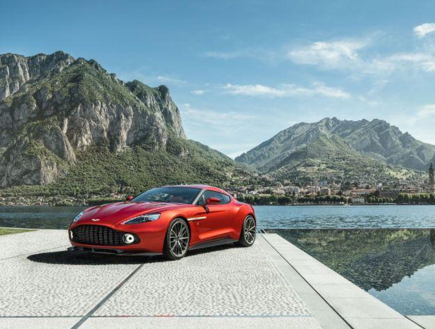 Aston Martin Vanquish Zagato, da Villa d'Este alla strada [FOTO]