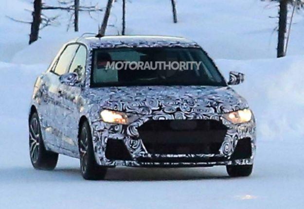 Audi A1 2018: foto spia e come sarà la piccola dei Quattro Anelli