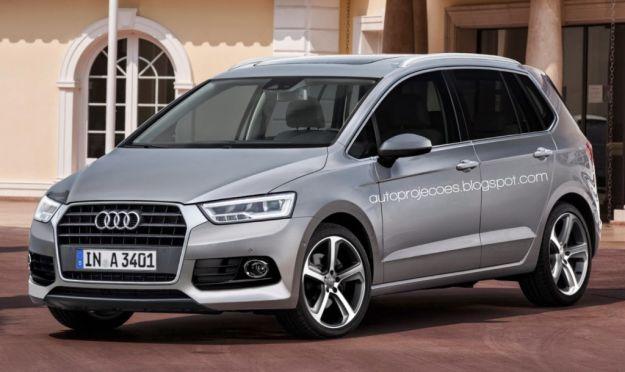 Audi A3 Spaceback: in arrivo un minivan? Ecco il render della futura mpv [FOTO]