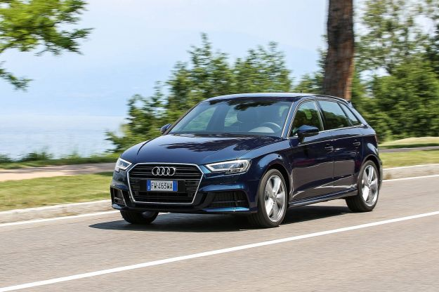 Audi A3 Sportback g tron copertina